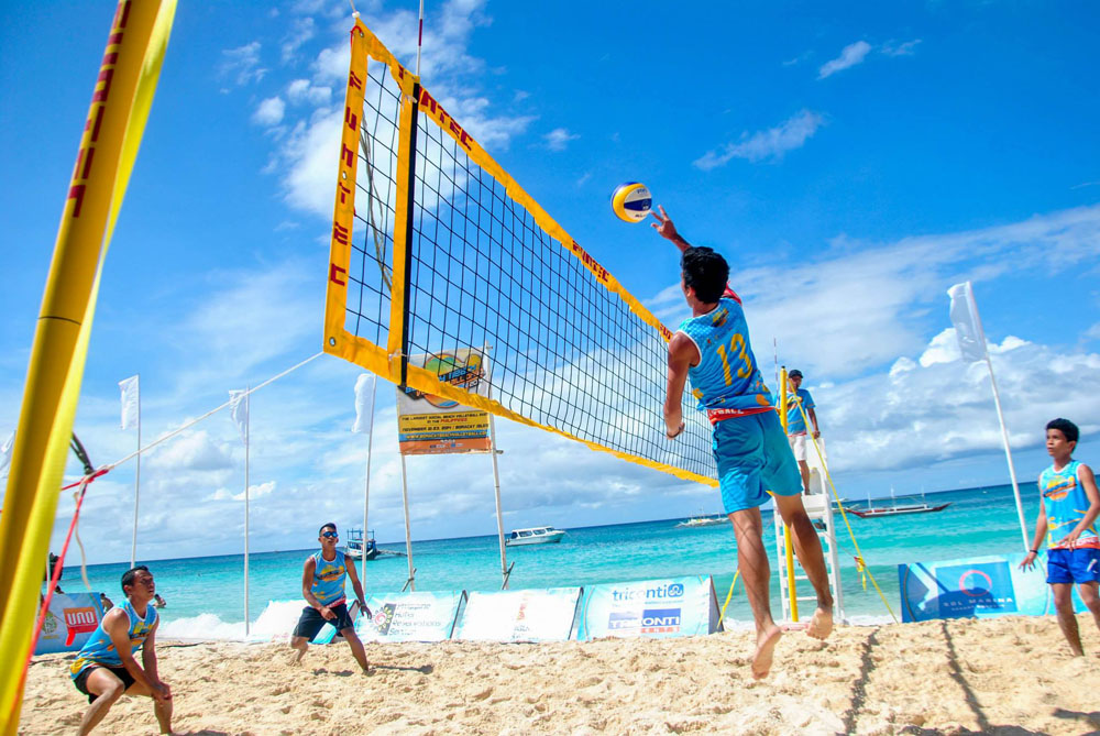 boracay beach volleyball
