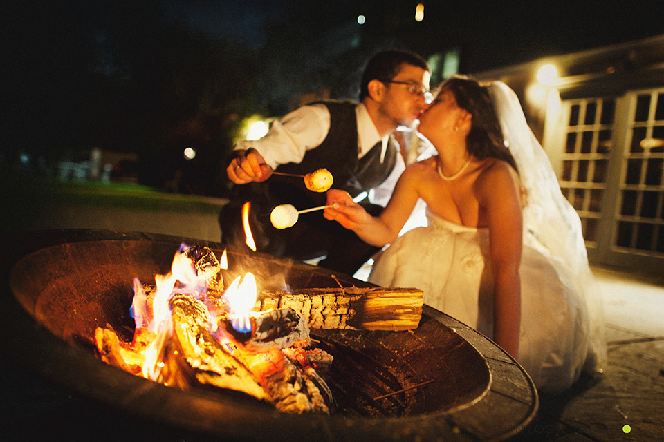 bonefire wedding