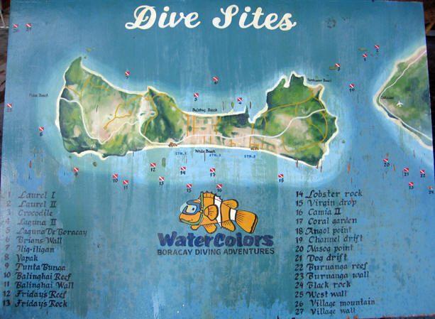 boracay diving site