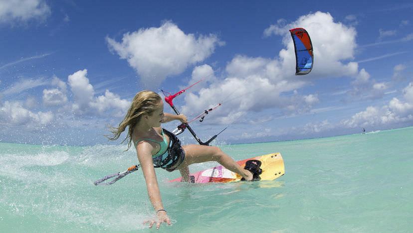 kitesurfing freeride