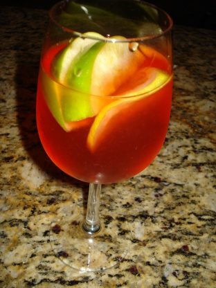 apple strawberry lemon