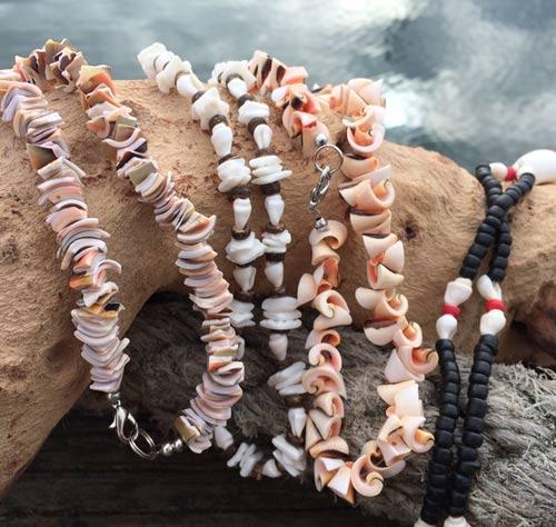 Puka shell necklace