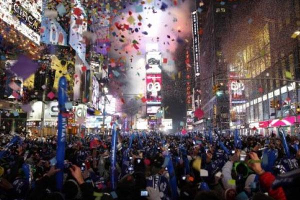 United States New Year