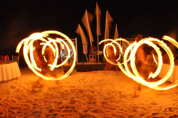 boracay fire dancer