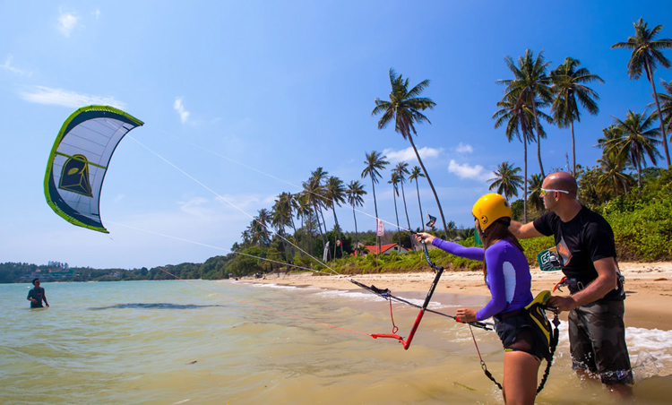 kite surfing basic