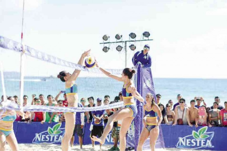 Nestea volleyball tournament