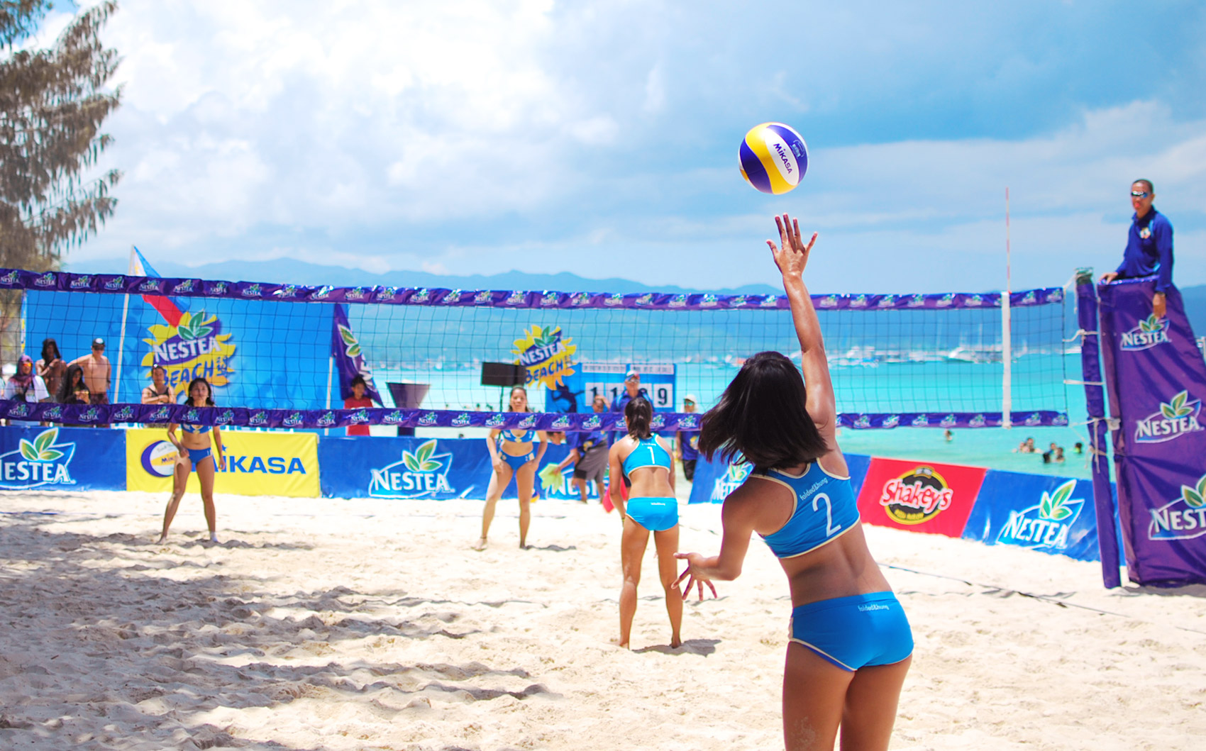 nestea beach volleyball