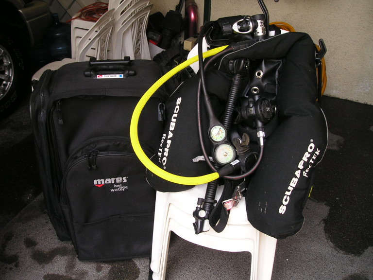 equipments diving