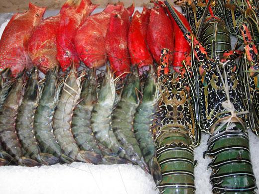 seafood boracay